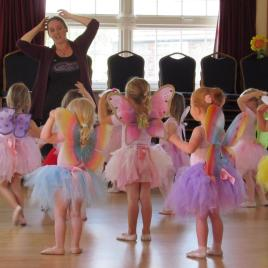 Fairy Ballerinas last day of term